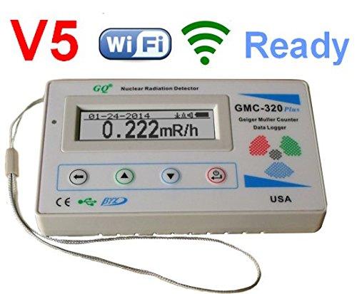 GQ GMC-320+ V5-Digital-Geiger-Zähler, WiFi,