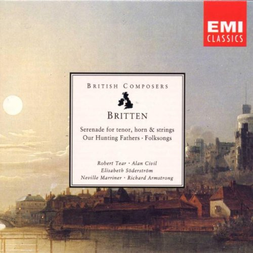 Britten Serenade for Tenor [Import anglais]