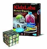 Fantastic Gift Ideals Teach Myself Biology Organs - Comes with a Fun Wild Animal Magic Cube