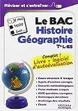 Je me teste sur. Le BAC - Histoire, Géographie, Tle L-ES (logiciel d'autoévaluation inclus)