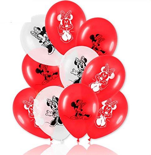 IE MOUSE * für den Kindergeburtstag oder Party // mit 75cm Umfang // Luftballon Ballons Deko Motto Kinderparty Minni Maus (Rote Minnie Maus Ballons)