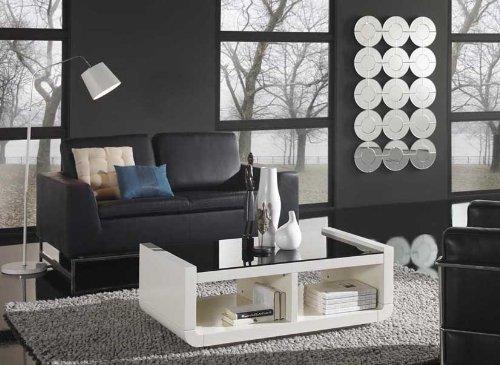 DECORACIÓN BELTRÁN Tables basses en bois: modèle CASUAL (274 blanc)
