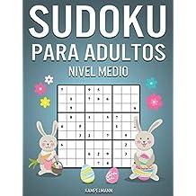 Sudoku Para Adultos Nivel Medio: 400 Sudoku para Adultos de Nivel Medio con Instrucciones y Soluciones - Edición de Pascua