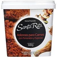 Santa Rita Aderezo para Carnes con Pimentón y Especias - 6 Paquetes de 500 gr - Total: 3000 gr