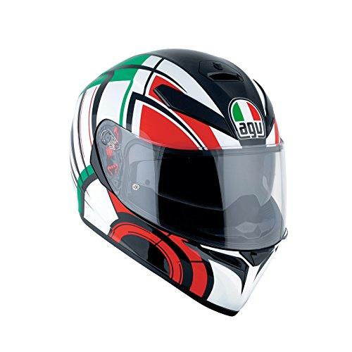 AGV Casco Moto K-3SV E2205Multi plk, Avior blanco/Italia, ML