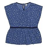 ESPRIT KIDS Mädchen Bluse RL1202502, Blau (Blue Overseas 429), 152 (Herstellergröße: M)