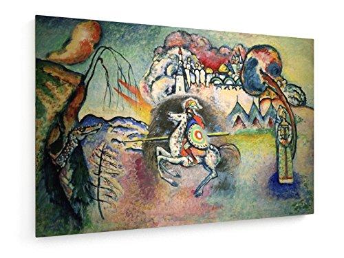 Wassily Kandinsky - Rider, San Giorgio - 90x60 cm - weewado - Belle stampe d