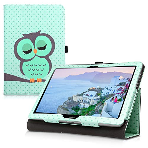 kwmobile Huawei MediaPad T3 10 Hülle - Tablet Cover Case Schutzhülle für Huawei MediaPad T3 10 mit Ständer