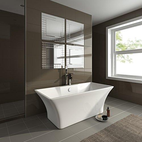 Soak Specchio Di Design Per Bagno Design Mosaico Moderno Quadrato