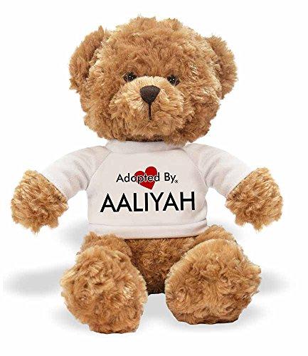AdoptedBy TB1Aaliyah Teddy Bär Tragen Einen Wunschnamen T-Shirt