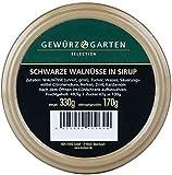 Gewürzgarten | Schwarze Walnüsse in Sirup