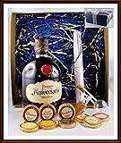 Geschenk Pampero Aniversario Reserva Exclusiva Rum + Flaschenportionierer + 9 Edel Schokoladen Confiserie DreiMeister kostenloser Versand