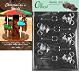 Cybrtrayd Bk-A022 Mouse Lolly Animal Chocolate Candy Mold by CybrTrayd