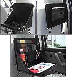 kabalo pliable si ge arri re de voiture de stockage organisateur avec support d 39 ordinateur. Black Bedroom Furniture Sets. Home Design Ideas