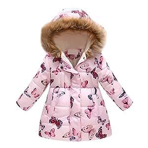 cb16d3518 ... Fineser Baby Clothes Winter Kids Coat, Stylish Little Girl Boy Warm  Jacket Coat
