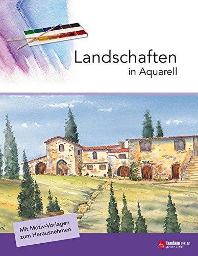 Landschaften in Aquarell