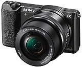 Sony Alpha 5100 Systemkamera mit ultraschnellem Hybrid-AF (180° drehbares 7,62 cm (3 Zoll) LC-Display, 24,3 Megapixel, Exmor APS-C Sensor, Full HD Video) inkl. SEL-P1650 schwarz - 9