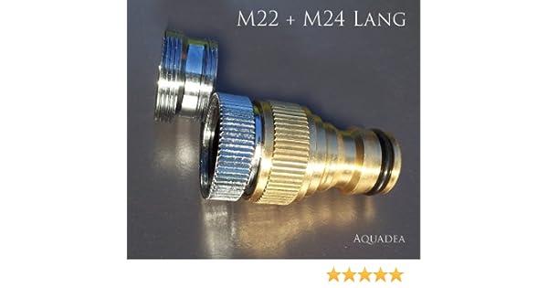 """Hahnanschluss Messing 1/"""" IG Gardena kompatibler Anschluss"""