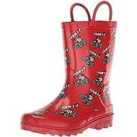 Adtec Unisex-Kids CI-4001 Rain Boot, Red, 3 Medium US Little Kid