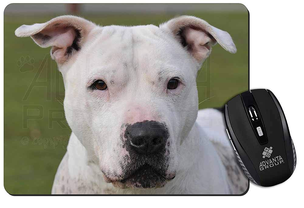 Advanta Group American Staffordshire Bull Terrier Dog Computer Mouse Mat Idea