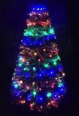 Idea Regalo - 150Multi LED Chasing Christmas Tree netta Light–per 4/5pi Alberi di Natale