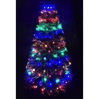 150 Multi Led Chasing Christmas Tree Light Net – para 4/5 pies Árboles de Navidad