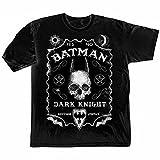 Batman Men's Black Jack Daniels Style Tee Shirt - Large