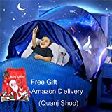 Kids Bed Tent Space Adventure Boys Pop up Play Tent Magic Playhouse Indoor Play Castles Birthday Gifts Bedding Decoration