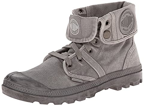 Palladium Pallabrouse Baggy, Sneakers Basses femme, Gris (Titanium/high-rise), 36