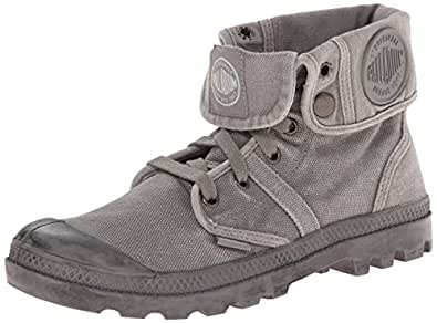 Palladium Pallabrouse Baggy Damen Desert Boots, Grau (Titanium/High-Rise 066), 35.5 EU