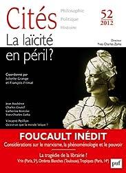 Cités, N° 52, 2012 : La laïcité en péril ?
