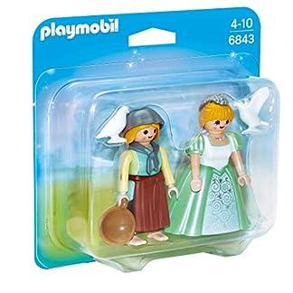 PLAYMOBIL Duo Pack – Duo Pack Princesa y Granjera (6843)