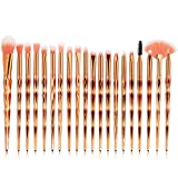 Beauty Zubehör FORH 20PCS Make Up Pinsel Set Professional Kosmetik Pinsel Foundation Eyebrow Eyeliner erröten kosmetische Concealer Brush Pinselsets (B)