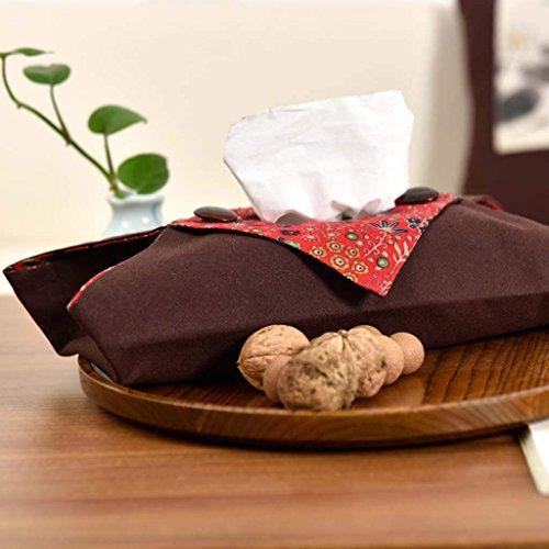 Jiaa Home Decor Produkte mit Modernen und Stilvollen Aussehen Design Modern Home Baumwolle Leinentuch Handtuch Set Schlafzimmer Papiertüte Beheizte Handtuch,Braun - Moderne Handtuch-set