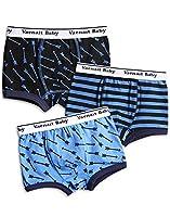 Vaenait Baby 2-7 Years Kids Boys Underwear Boxer 3-Pack Set Boxer Arrow S