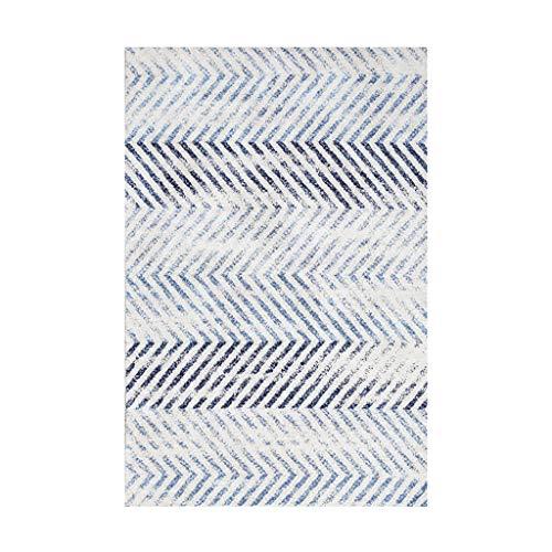 Teppiche JXLBB Wohnzimmer Polyester Nacht 0,8x1,5 m Polyester Moderne Minimalistische Kurze Samt Dicke 10mm Mode Licht Farbe Schlafzimmer Balkon