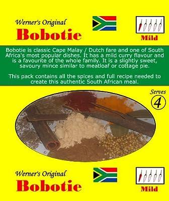 Werner's Original Bobotie Mix by Werner