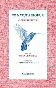 De natura florum par Clarice Lispector