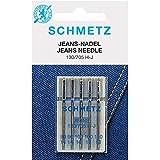 SCHMETZ-Aghi per macchina da cucire, JEANS, 130/705 H-J, 100 NM/16, 5 pezzi