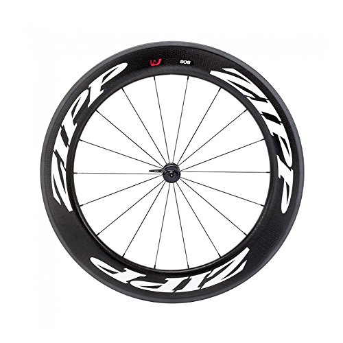 Zipp 808 Firecrest Carbon Clincher Road Wheel White, Front
