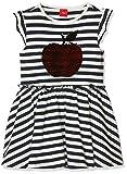 s.Oliver Junior Mädchen 54.899.82.0462 Kleid, Blau (Dark Blue Stripes 58g0), 104 (Herstellergröße: 104/REG)