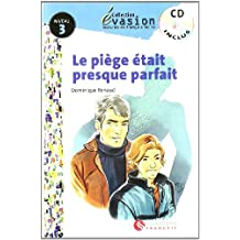 EVASION NIVEAU 3 LA PIEGE ETAIT PRESQUE PARFA + CD (Evasion Lectures FranÇais) - 9788429409413