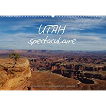 Utah spectaculaire / BE-Version (Calendrier mural 2015 DIN A2 horizontal): Impressions de la nature grandiose de l'Utah. (Calendrier mensuel, 14 Pages) (CALVENDO Nature)