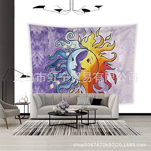 jzxjzx Colorido Estampado de Elefantes tapicería casera Pared Colgante decoración de la...