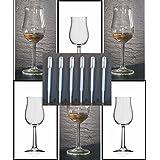 Whisky Nosing Gläser 6 Bugatti mit Rastal Design im Original Karton und 6 Einweg Pipetten, kostenloser Versand