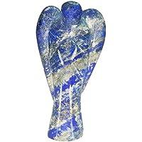Lapis Lazuli Stein geschnitzt Engel Heilung Kristalle Reiki Angel Reiki Spritual Geschenk mit Rot Geschenk Tasche preisvergleich bei billige-tabletten.eu