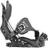 Flow Omni Hybrid Snowboardbindung 2019 - Charcoal Gr. M