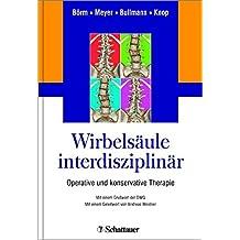 Wirbelsäule interdisziplinär: Operative und konservative Therapie. Mit einem Geleitwort von Michael Rauschmann.