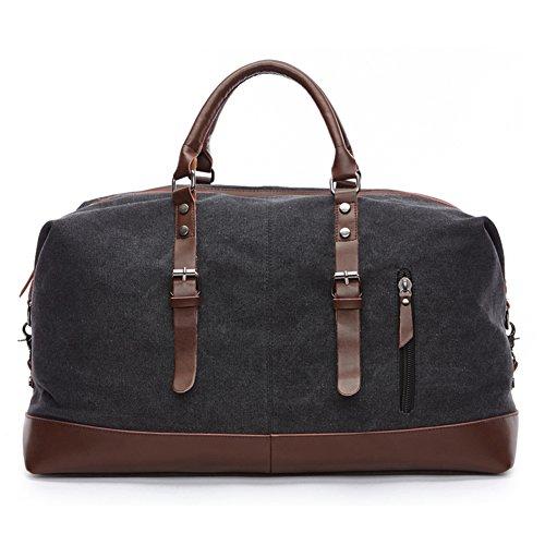 fresion-35l-unisex-grand-sac-de-voyage-toile-et-vrai-cuir-sac-pour-duffle-nuit-week-end-satchel-tote