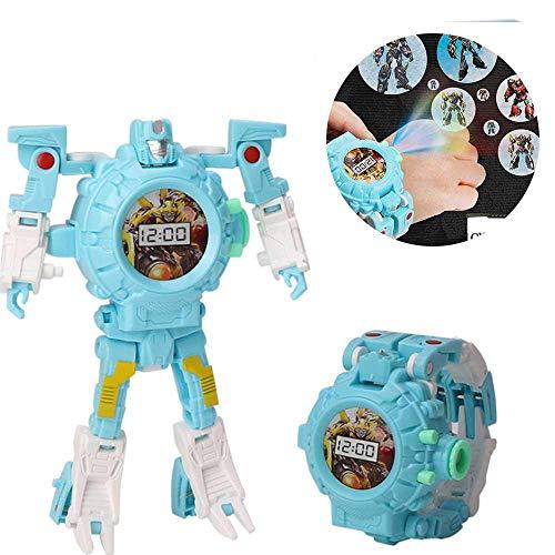 Umiwe 3 en 1 Transformer Watch Toys Projection Kids Robot...